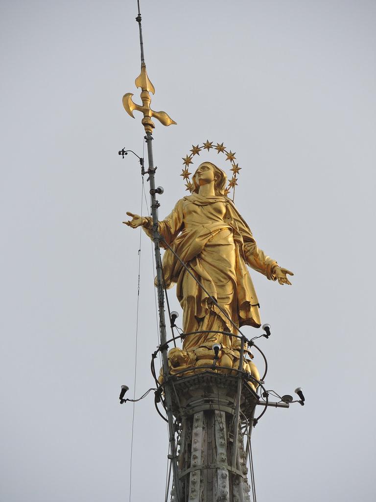La Madonnina del Duomo di Milano