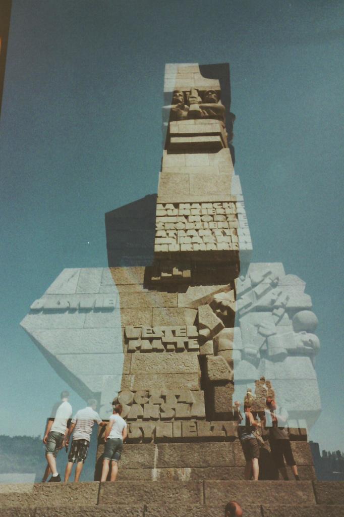 Monumento commemorativo delle batttaglia di Westerplatte