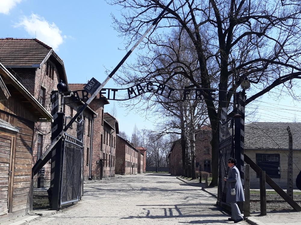 Campo di Auschwitz portale