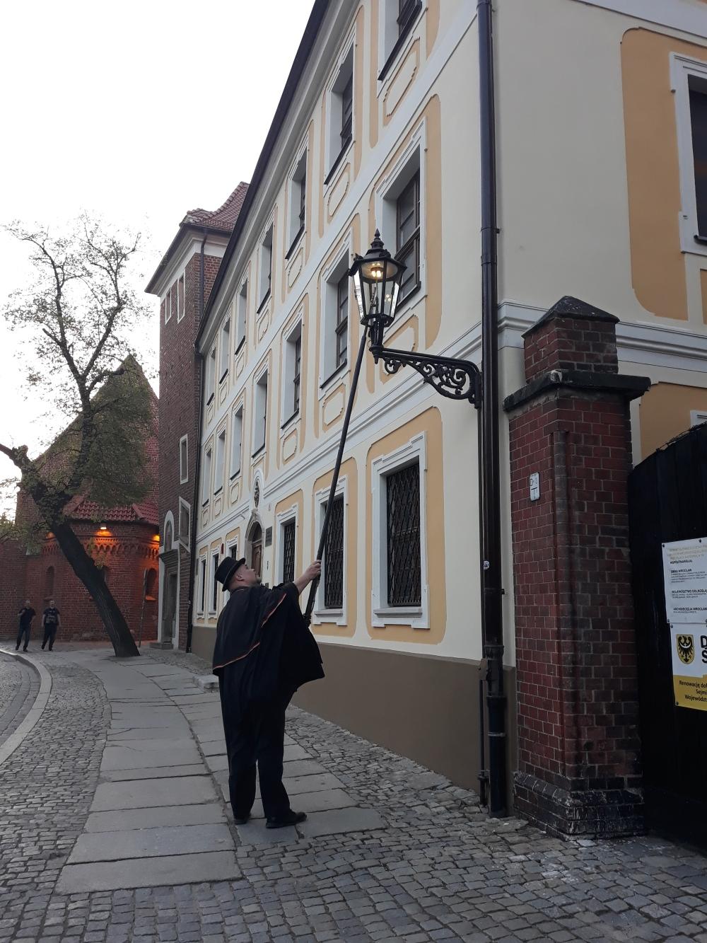 Wroclaw il Lanterniere
